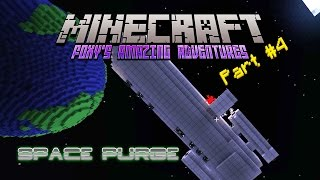 Minecraft - Foxy's Amazing Adventures - Space Purge {4} - Scarey Spider Space Ship