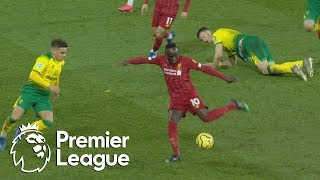 Sadio Mane puts Liverpool in front against Norwich City  Premier League  NBC Sports
