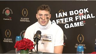Ian Book, Notre Dame Offensive Players After College Football Playoff Rose Bowl Loss Against Alabama