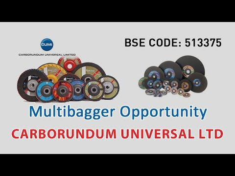 Multibagger Opportunity | CARBORUNDUM UNIVERSAL LTD | Investing | Share Market Tips | Financing |