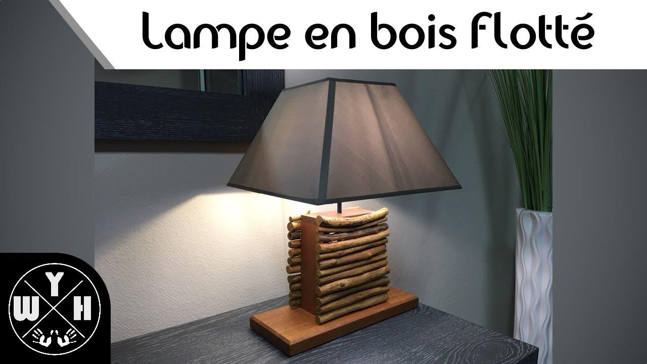 Que Faire Avec Bois Flotté #diy - fabriquer une lampe en bois flotté