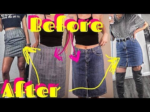 HOW TO RESIZE SKIRTS