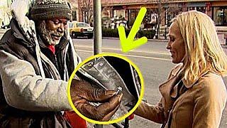 Бездомный вернул женщине кольцо с бриллиантом. Он не мог и подумать, что она так отблагодарит его