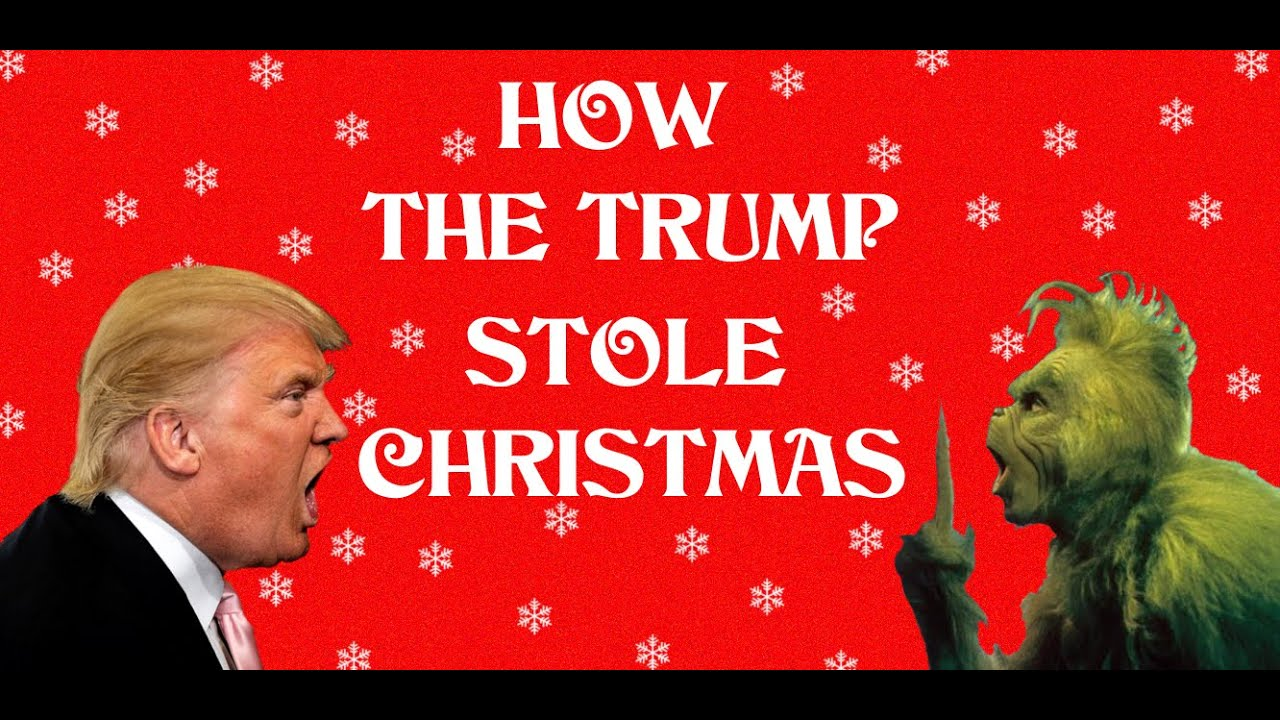 You're a Mean One Mr. Trump (Grinch Holiday Parody) - YouTube