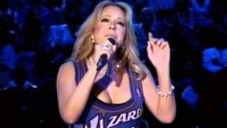 Mariah Carey - Tribute To Michael Jordan - LIVE At NBA All Star Game 2003