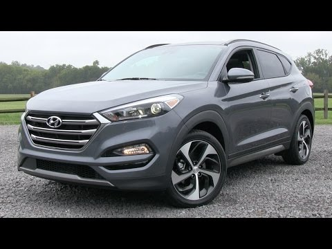 2016 Hyundai Tucson Limited 1.6T (Ultimate Pkg) Start Up, Ro