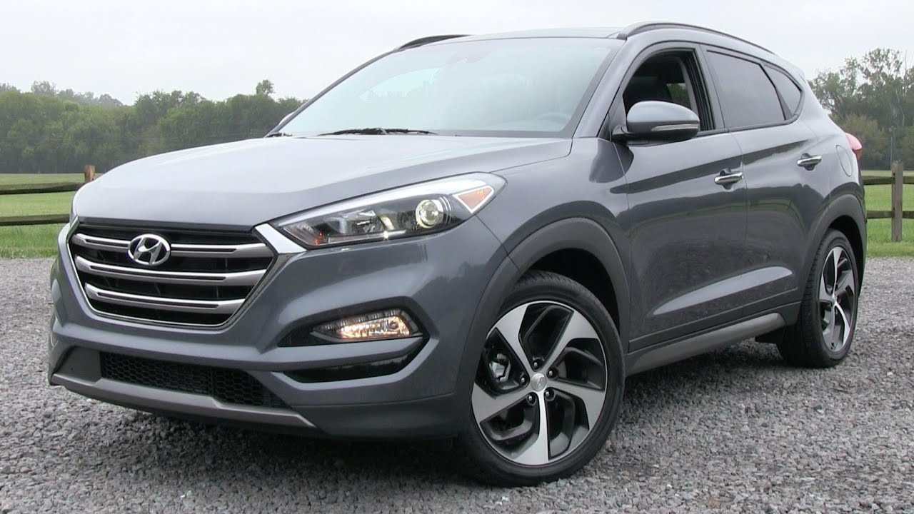 2016 Hyundai Tucson Limited 1 6t Ultimate Pkg Start Up Road
