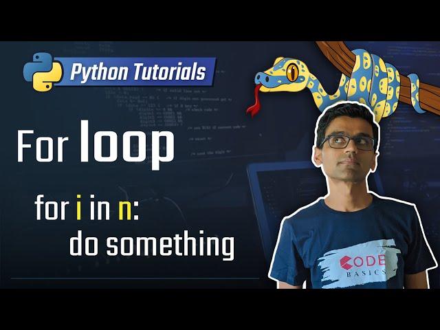 9. For loop [Python 3 Programming Tutorials]