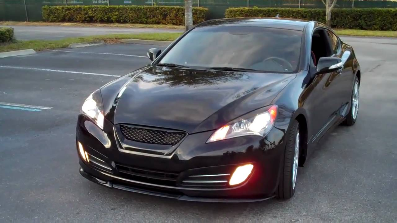 Hyundai Elantra Coupe >> Highly Modded Genesis Coupe 380GT - YouTube