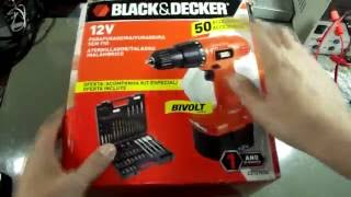 Furadeira e parafusadeira Black & Decker CD121K50 - Review por dentro e por fora (3 anos depois)