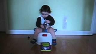 12/06 David potty-training