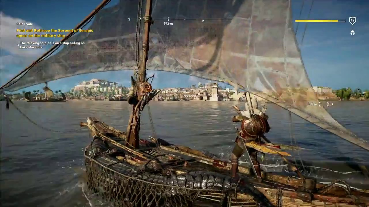 Hands-on with Assassin's Creed Origins: Sailing and ...