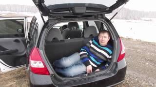 Скачать Обзор из села Honda Fit 1 3 4WD 2003гв Хонда Фит 1 поколения