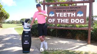 Pep Anglés shares his experience with the Teeth of the Dog golf course #TOTDexperience