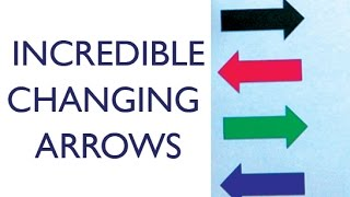 INCREDIBLE CHANGING ARROWS!!! REFRACTING WATER EXPERIMENT