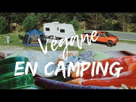 Ce que j'ai mangé en camping | VEGAN⛺