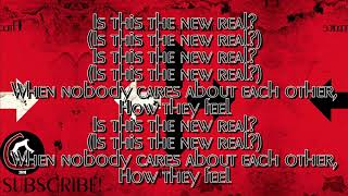 """Three Days Grace - The New Real (LYRIC VIDEO) [From the """"Outsider"""" album 2018]"""