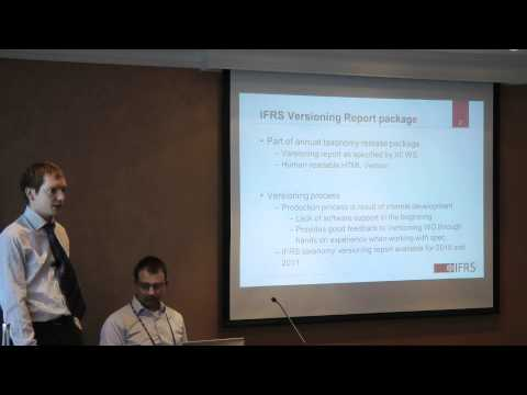 XBRL Versioning - 22nd XBRL International Conference