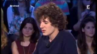 Vincent Lacoste On n'est pas couché 13 octobre 2012 #ONPC