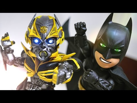 Batman VS Alien stop motion 蝙蝠俠VS異型