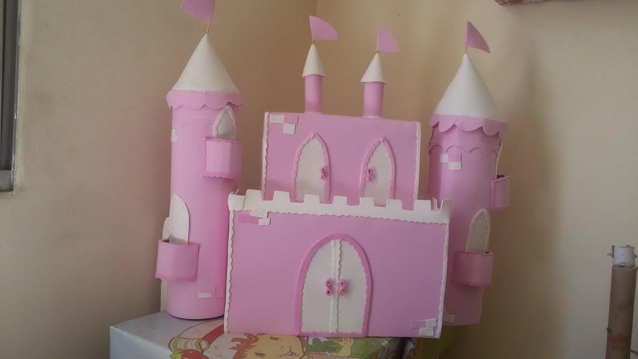 Castelo De Papelão Passo A Passo Youtube