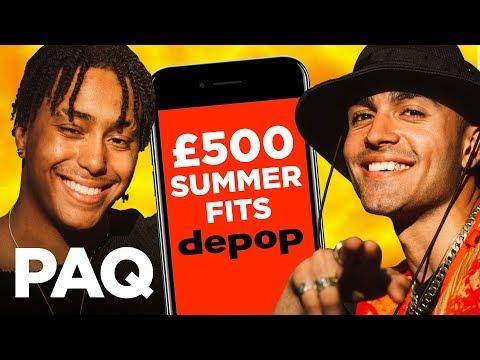 8e348c0c3 £500 Depop Summer Streetwear Challenge! | PAQ EP#36 | A Show About  Streetwear