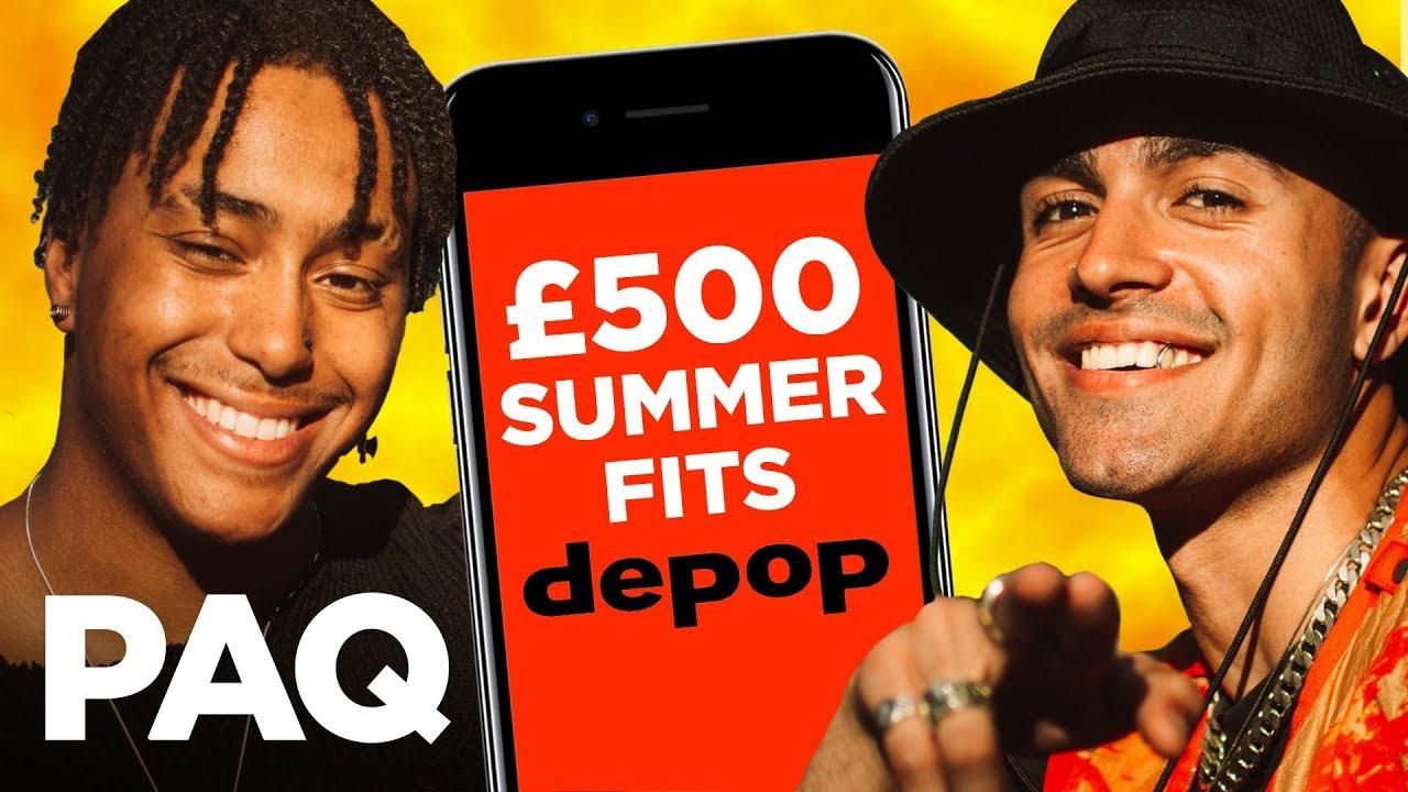 [VIDEO] - £500 Depop Summer Streetwear Challenge!   PAQ EP#36   A Show About Streetwear 2
