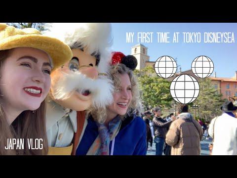 My First Time At Tokyo DisneySea // Japan Vlog