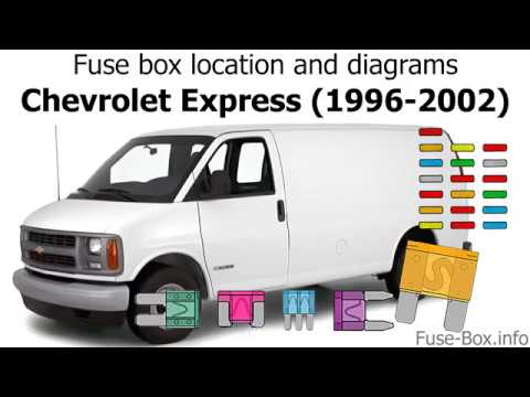 Fuse Box Location And Diagrams: Chevrolet Express (1996-2002)