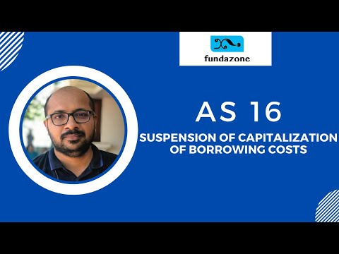 AS 16 - Suspension of Capitalisation