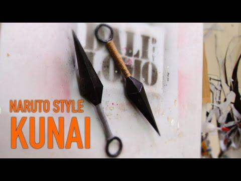 DIY Naruto's Kunai - Cereal Box | Costume Prop How To