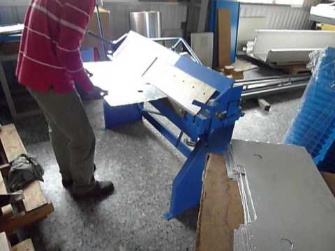 Manual Bending Machine Hand Box Amp Pan Brake Youtube
