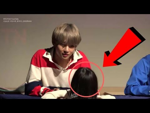 BTS V telling pretty girl she can call him her boyfriend caught by fancam