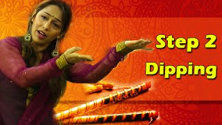 Learn Garba Dance Steps With Phulwa Khamkar - Step 2 - Dipping - Navratri Special