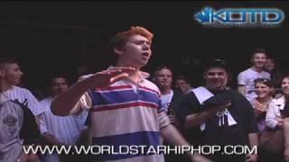 KOTD - Rap Battle - Tricky P vs Mosh