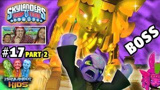 Lets Play Skylanders Trap Team: GOLDEN QUEEN BOSS BATTLE! Chapter 17: Lair of the Golden Queen pt. 2