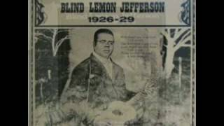 Watch Blind Lemon Jefferson Happy New Year Blues video