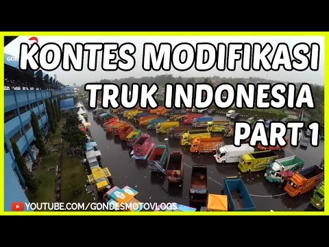Modifikasi Truk Indonesia Terbaru 2016 (Truck Fuso, Diesel, Hino ) KAMT Part #1
