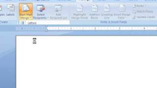Mail Merge in Microsoft Office Word 2007