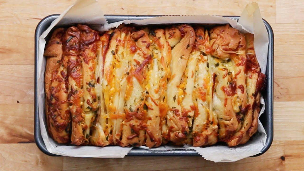 maxresdefault - Ham and Cheese Pull Apart Garlic Bread