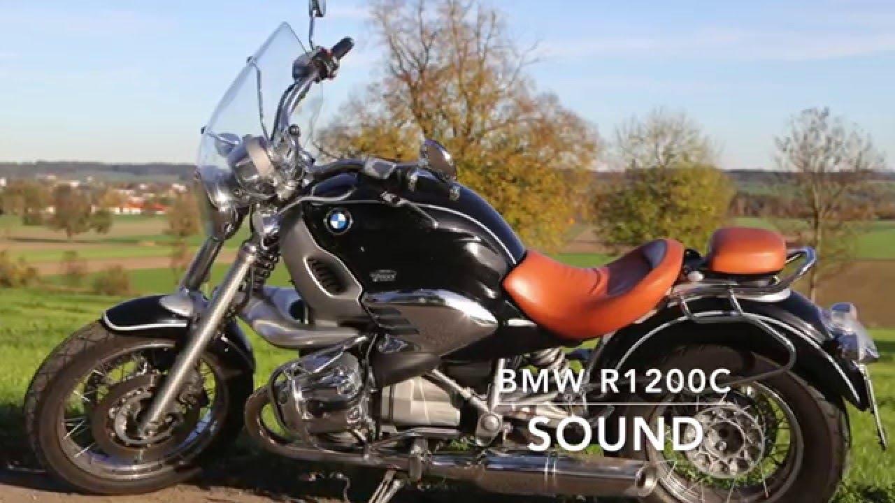 bmw r1200c cruiser exhaust sound start driving engine. Black Bedroom Furniture Sets. Home Design Ideas