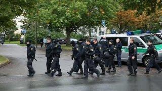 Großeinsatz in Chemnitz: Polizei sucht mutmaßlichen Sprengstoffattentäter