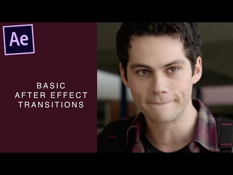 after effect tutorial — smooth basic transitions *·゚✧