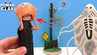 Strange New Life Form, The Stranger without Mask and Stick Bug with Clay | Trevor Henderson Creature