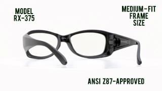 1e197593df Prescription Safety Glasses  RX-375