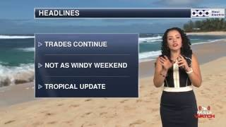 WEATHERWatch for July 29, 2016