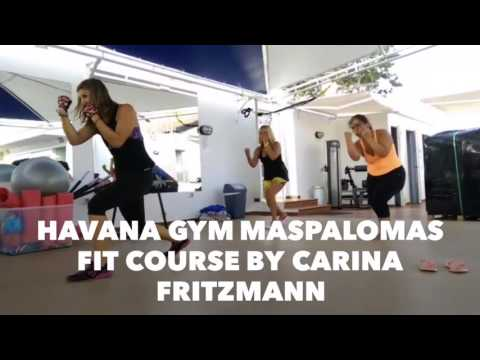 Havana Gym Maspalomas with our great profesional Carina Frit