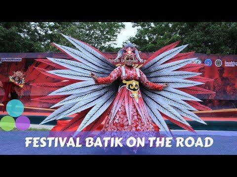 Fashion On The Road Lenggang Batik Madura Di Kabupaten Sampang
