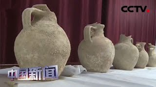 [中国新闻] 新疆:哈密境内首次发现唐代墓葬群 | CCTV中文国际