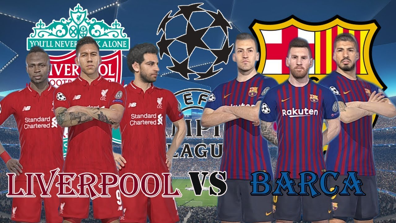 Liverpool vs Barcalona | UEFA Champions League 18/19 | Gameplay PC